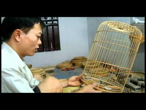 Làng nghề lồng chim Canh Hoạch - làng Vác Thanh Oai Hà Nội