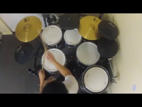 Netral - Cinta Gila (drum cover) by Budi Fang