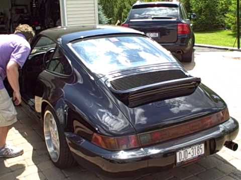Porsche 911 carrera 4 1990 964 coupe youtube publicscrutiny Choice Image