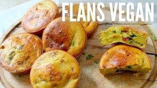 FLANS AUX LÉGUMES Sans Gluten | VEGAN HCLF