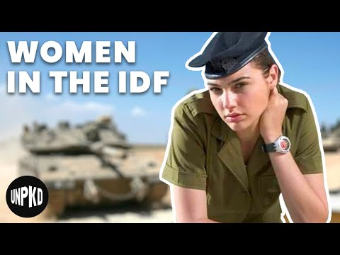 The Wonder Women Of The Israel Defense Force