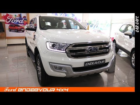 Ford Endeavour 3.2 L 2018 Hindi Review || Car Cafe