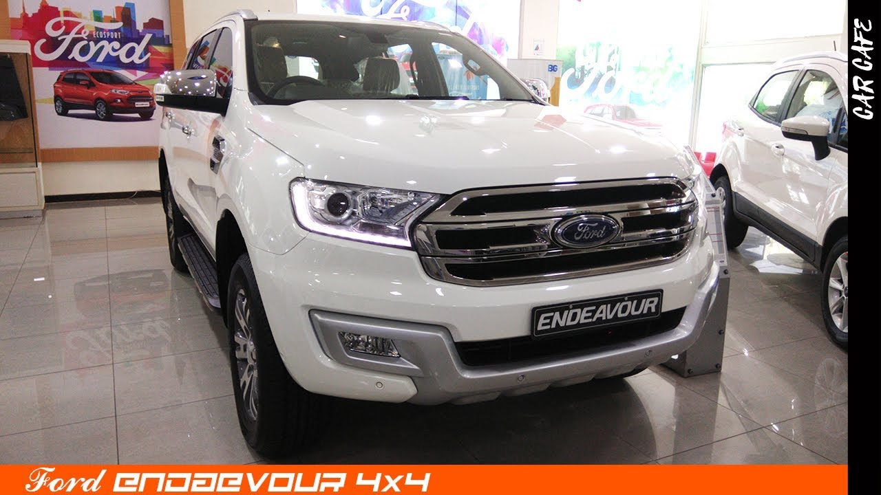 Ford Endeavour 3 2 L 2018 Hindi Review Car Cafe Youtube