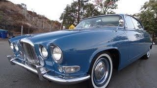 Mark X Jaguar 420G Video Mark 10 4.2 Straight 6 Saloon Test Drive Walkaround Classic...