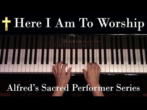 Here I Am to Worship, Tim Hughes (Advanced Piano Solo)