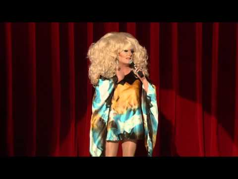 Lady Bunny Audience Warm-Up Before RuPaul's Drag Race 4 Reunion Show