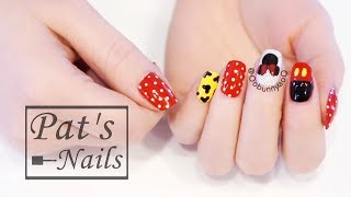 Disney Style - Mickey Minnie Nails 萌萌哒米妮美甲 | Pat's Nails