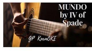 MUNDO by IV of Spade [GPKAraOke]