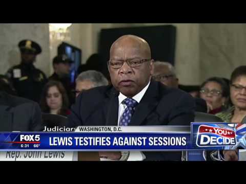 Rep. John Lewis says Sessions unfit to be attorney general