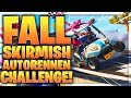 🚘 🔥 FALL SKIRMISH Autorennen-Challenge   Fortnite Battle Royale
