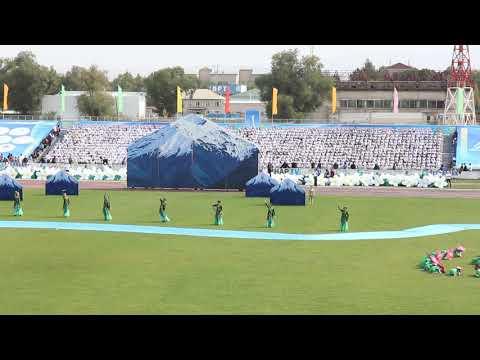 Kazakh holiday performance in Taldykorgan stadium - 2014