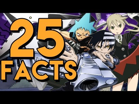 25 Things You Probably Didn't Know About Soul Eater! (25 Facts) | The Week Of 25's #1