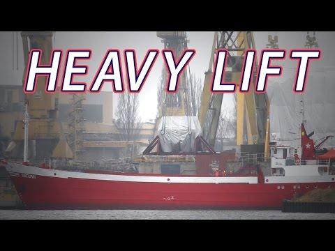 Heavy Lift Crane 167 Tons GE Power Steam Turbine PGE Opole Blok nr 6