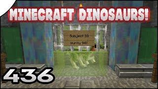 Minecraft Dinosaurs! || 436 || Dino Test Subject