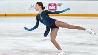 24 03 2021 Фигурное катание Чемпионат мира Женщины Короткая программа Победа Щербаковой