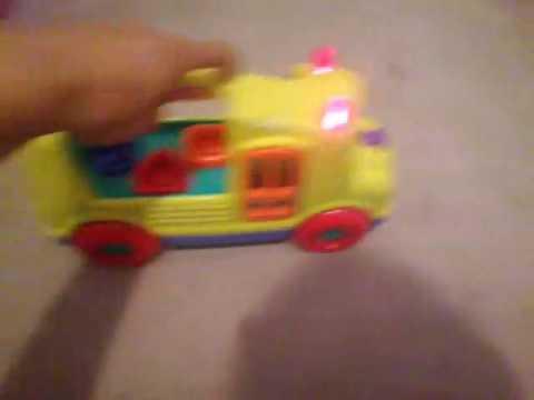 Playskool Musical Bus Toy Hasbro (2003)