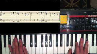 "How to play ""Sunshine"" by Atmosphere - piano tutorial"