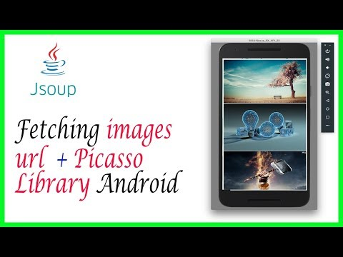 Parsing HTML In Android Using Jsoup | Fetching Images Url | Part 3