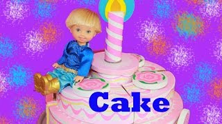 Birthday Cake Melissa & Doug Wooden Learning Educational Toys  Frozen Toby Decorating Play Doh Cake