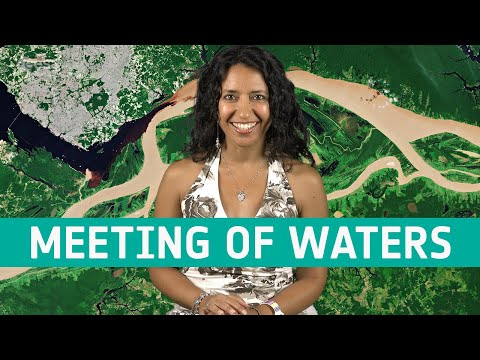 Earth from Space: Meeting of waters