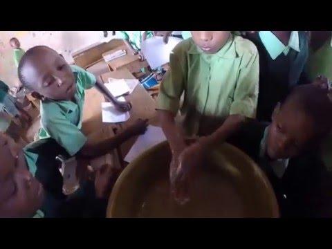 En helt vanlig dag, på jobb i Voi, Kenya