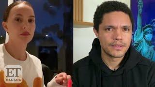 Trevor Noah, Natalie Portman Talk 'Defund The Police'