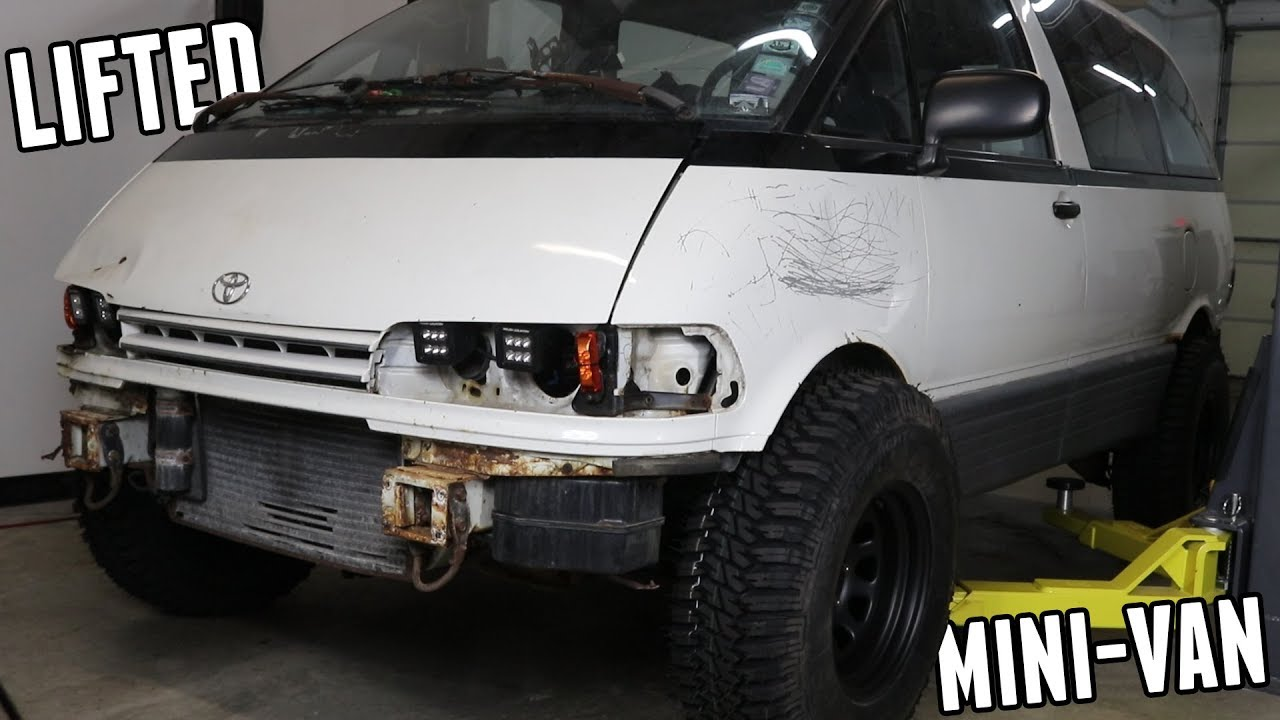 Mini-Van Lift Kit is Finished! (Its Crazy   ) - YouTube