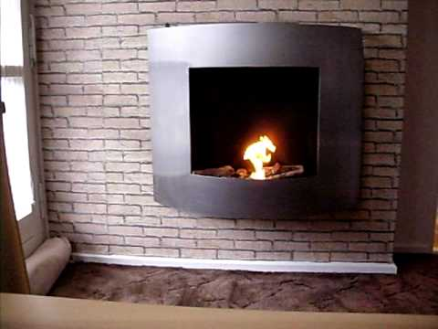 unser bio ethanol kamin youtube. Black Bedroom Furniture Sets. Home Design Ideas