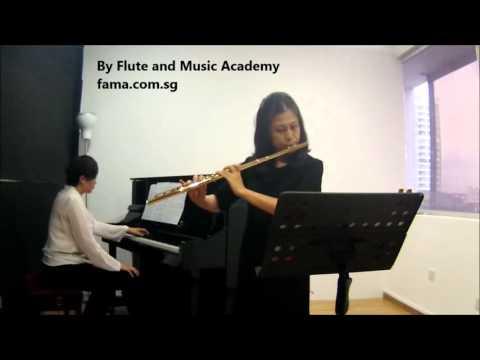 Flute ABRSM Grade 5 2014-2017, B1: Leo Delibes Morceau Concours de flute, 1876