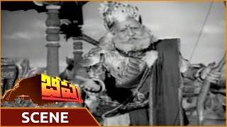 Bheeshma Movie    NTR Emotional Scene With Haranath    NTR, Anjali Devi, Haranath    Shalimarmovies