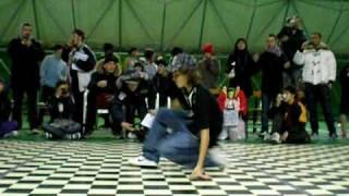 Born To Break 2009 - Scratch The Floor Juniors Crew (Plasm, Sasà, Giorgia, Moreno)