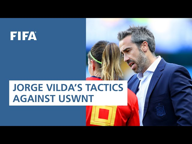 Spain - USA (France, 2019): Jorge Vilda's tactical plan against the reigning world champions