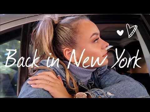 ALONE IN NEW YORK & I AM BACK   GIZEM AVCI