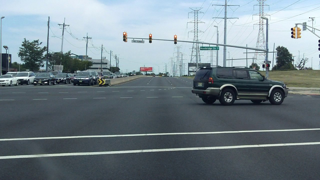 US 1 - New Jersey (Garden State Parkway to US 9) northbound