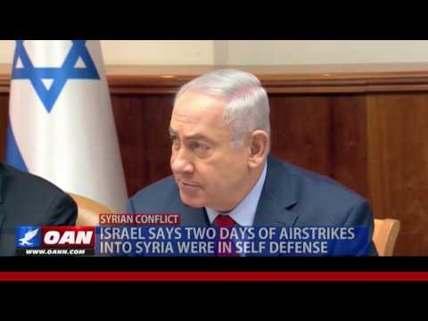 Israel Says 2 Days of Airstrikes into Syria Were in Self-Defense