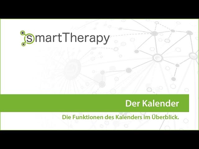 smartTherapy: Der Kalender im Überblick