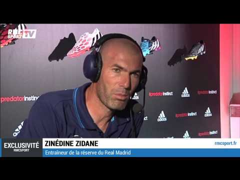 Luis Attaque / Interview exclusive de Zinedine Zidane - 15/09
