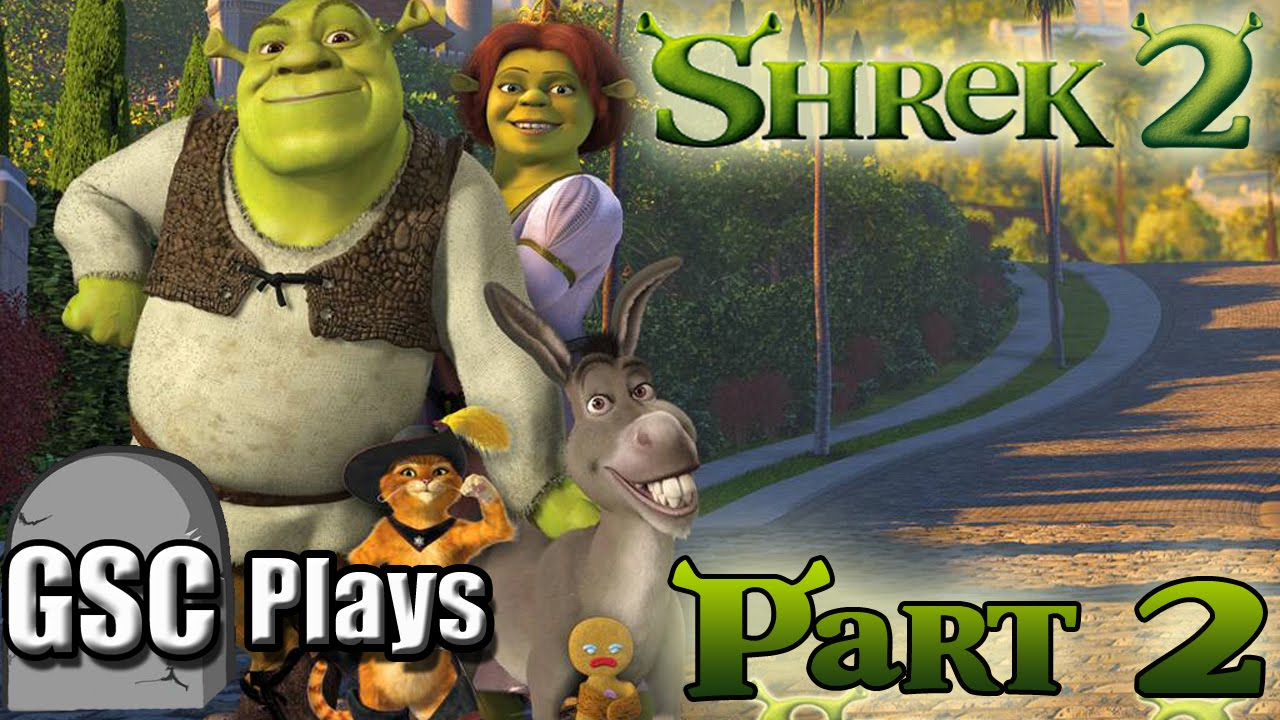 Gsc Plays Shrek 2 The Game Part 2 Little Red Is Too Op Youtube
