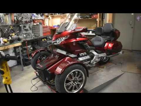 2018 Honda Goldwing DCT Tour reverse trike conversion
