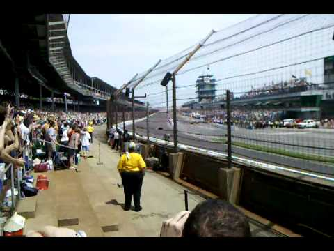 2011 Indy 500 First Lap from best seats in house
