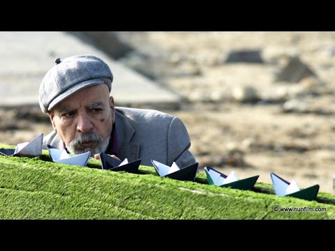 Reveries of the Solitary Actor a film by Hamid Benamra, with Mohammed Adar, TRAILER Nunfilm 2016