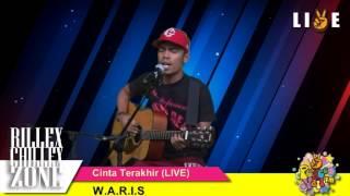W.A.R.I.S -  CINTA TERAKHIR (AKUSTIK LIVE PEACEYALL FM)