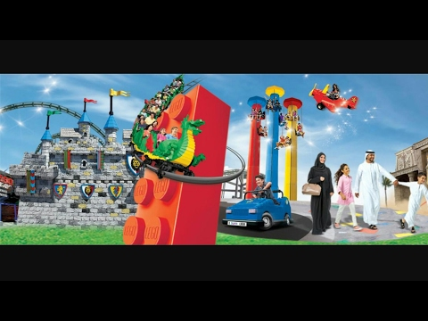 Dubai Parks and Resorts - Lapita Hotel Exotic View (4K)