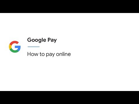 How do you pay online with Google Pay?