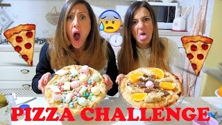 PIZZA CHALLENGE SCHIFOSISSIMA... FINITA MALE !!!! con Carlitadolce!