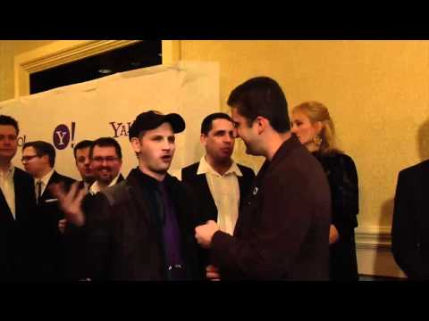 2012 IAWTV Awards Blue Carpet Interview: Greg Aronowitz of Dragon Age: Redemption