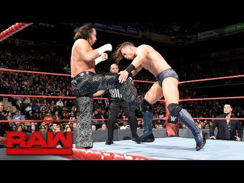 The Miz vs. Matt Hardy - Intercontinental Championship Match: Raw, Oct. 30, 2017