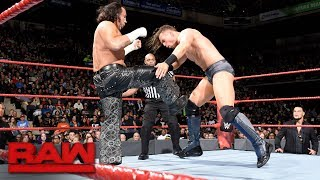 The Miz vs. Matt Hardy - Intercontinental Championship Match: Raw, Oct. 30, 2017