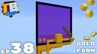Super Janky Gold Farm... But It Works! - Truly Bedrock Season 2 Minecraft SMP Episode 38