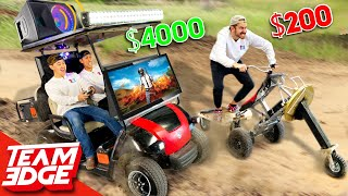 $200 vs $4000 Go Kart Challenge! *this is so unfair😂*
